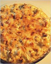 Капустный пай с сыром
