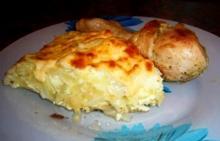 Запеканка из капусты с рисом и сыром